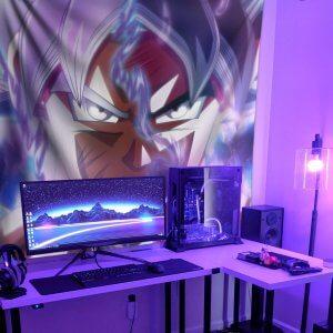 Vải Decor Goku Ultra Instinct