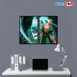 tranh treo tường anime Zoro