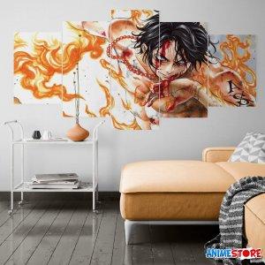 Decal Dán Tường Nhân Vật One Piece 001