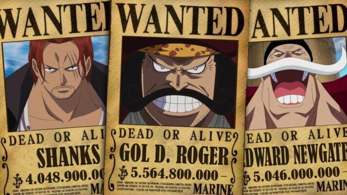 Lệnh truy nã trong One Piece